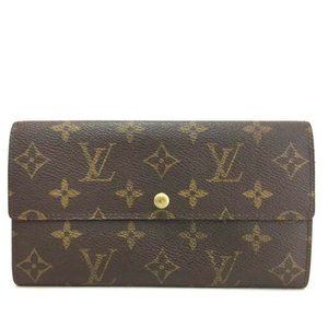 Authentic Louis Vuitton Monogram Portefeiulle